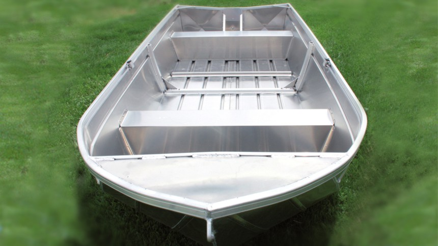 Inland aluminum boat, the Angler manufactured in Australia