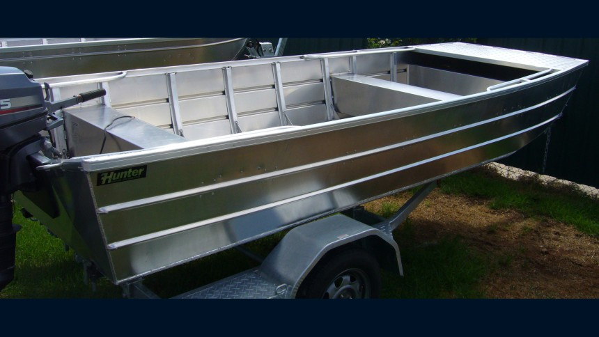 A heavier duty inland aluminum boat made here in Australia